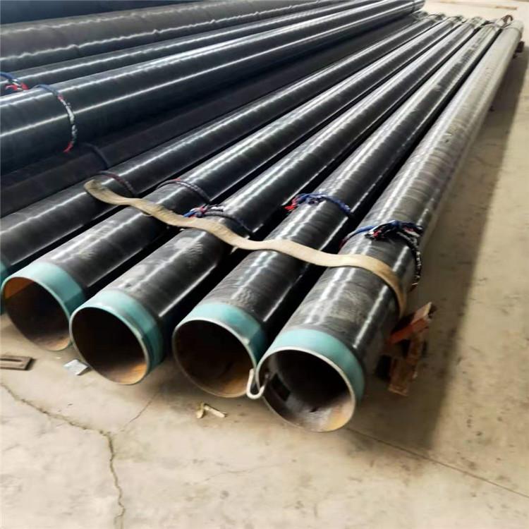 廣匯生產 3pe防腐鋼管 回水輸送3pe防腐鋼管 常年批發