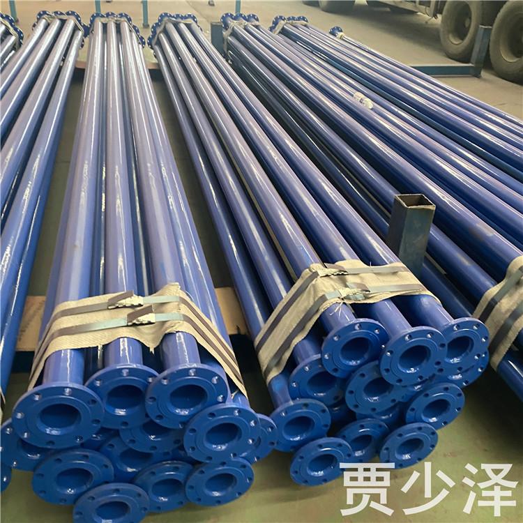 pps內外涂塑鋼管 法蘭涂塑復合鋼管 元發管道 送貨上門
