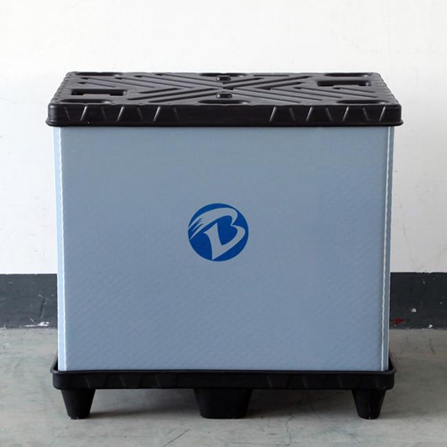 廣州 東莞 深圳 汽車零部件塑料圍板箱 汽配物流圍板箱