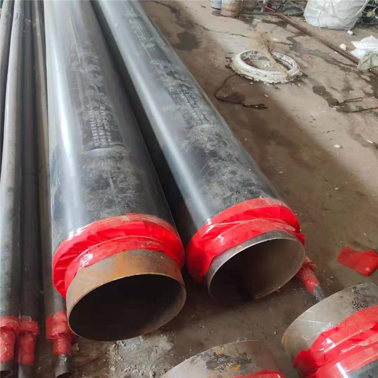 廣匯生產 預制直埋塑套鋼保溫管 聚氨酯保溫鋼管廠家 生產廠家