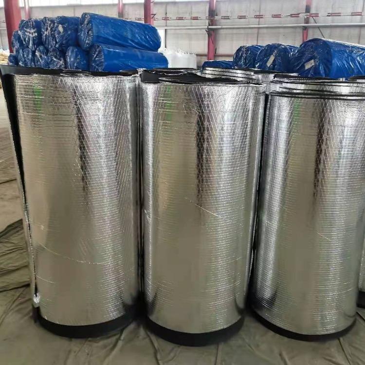 鋁箔b1橡塑保溫板 隔音橡塑海綿板廠家供應