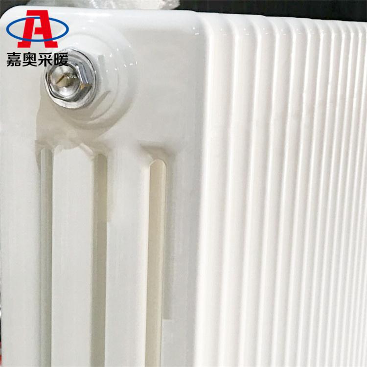 嘉奧 鋼四柱暖氣片防腐耐用 柱翼型鋼制散熱器四柱