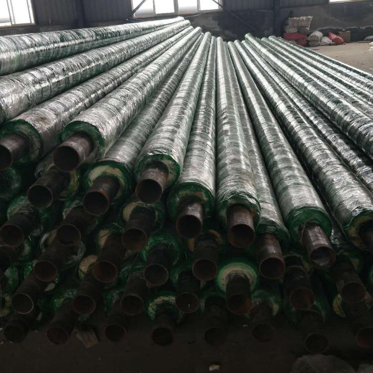 聚氨酯泡沫塑料直埋管 高溫直埋式預制蒸汽保溫管 歐良聚氨酯復合保溫管