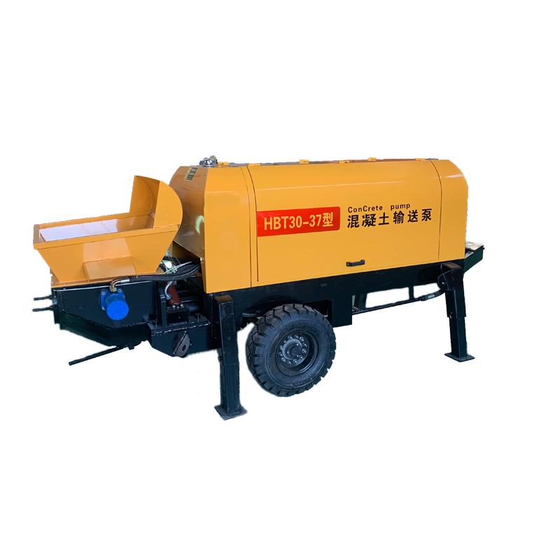 鴻多 廠家直供混凝土輸送泵 二次構造柱泵 細石混凝土泵