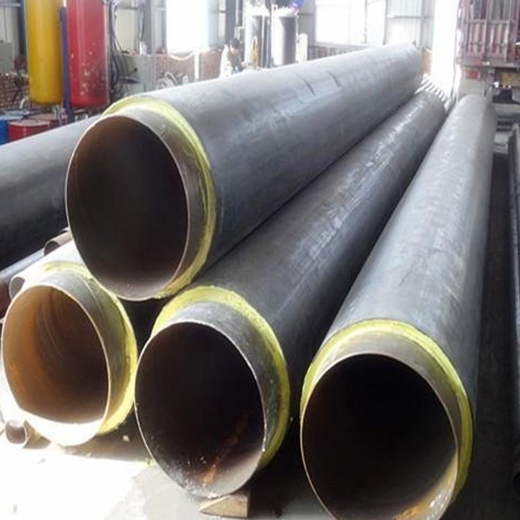 元發管道 鋼套鋼直埋保溫管 鋼套鋼直埋蒸汽鋼管 供應定做