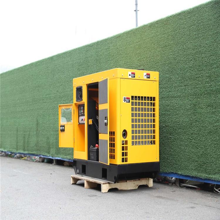 8kw移動式小型靜音汽油發電機單三相