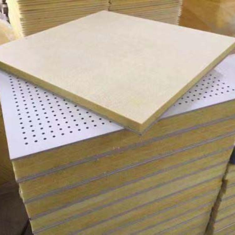 穿孔復合吸音板 硅酸鈣穿孔復合吸音板廠家 歐洛風