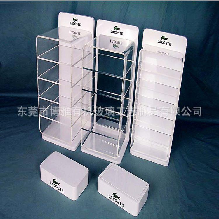 工厂直销定制化妆品展示架亚克力商场PVC货架安迪泡沫板PMMA板