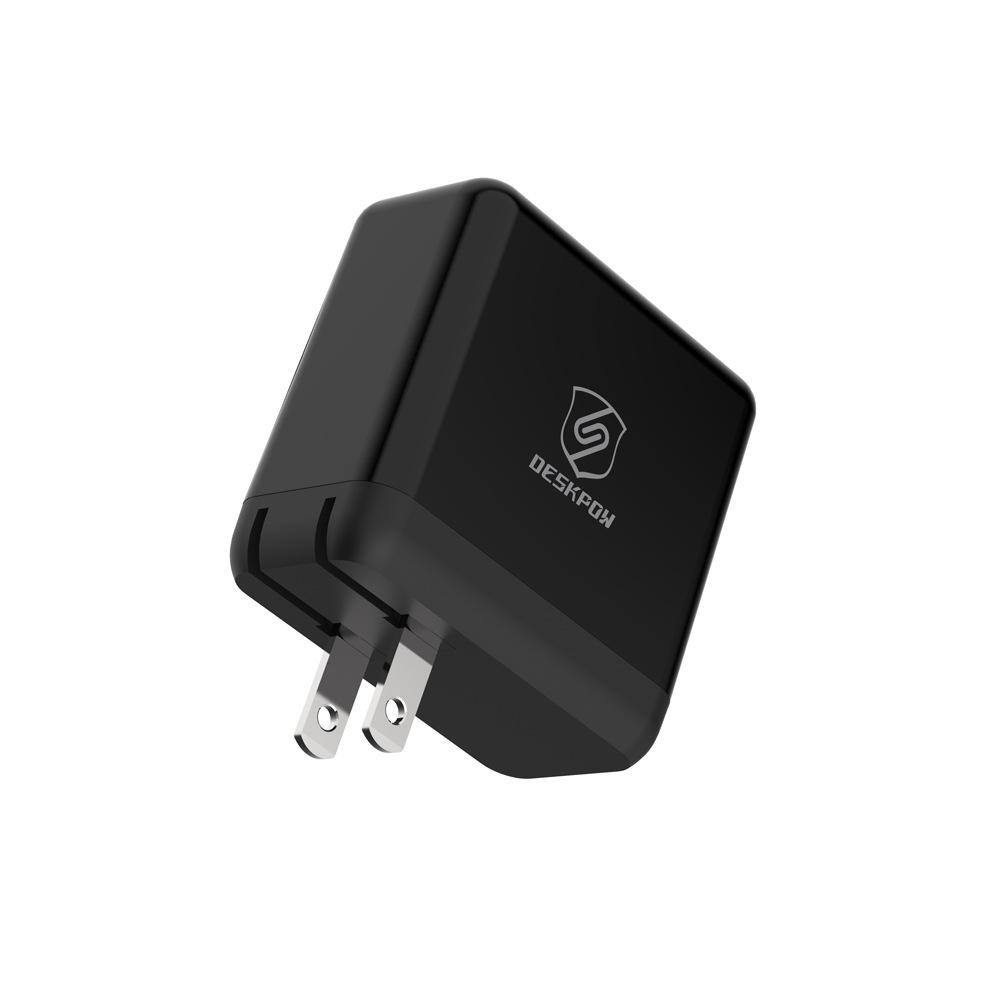 DESKPOW 厂家过认证36W带PD协议充电器 高通QC3.0输出支持MTK协议