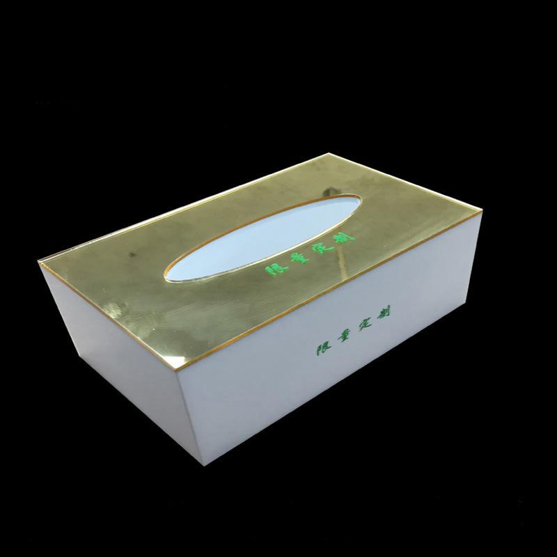 供应亚克力纸巾盒亚克力装饰盒有机玻璃精品盒子惠州厂家定制生产