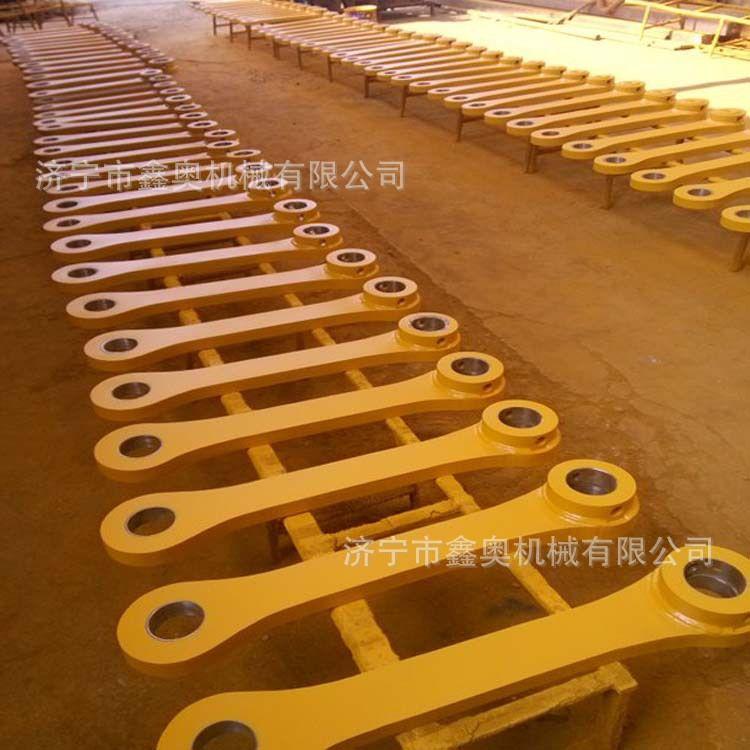 加工定制工程机械配件 挖掘工程机械配件 连杆总成