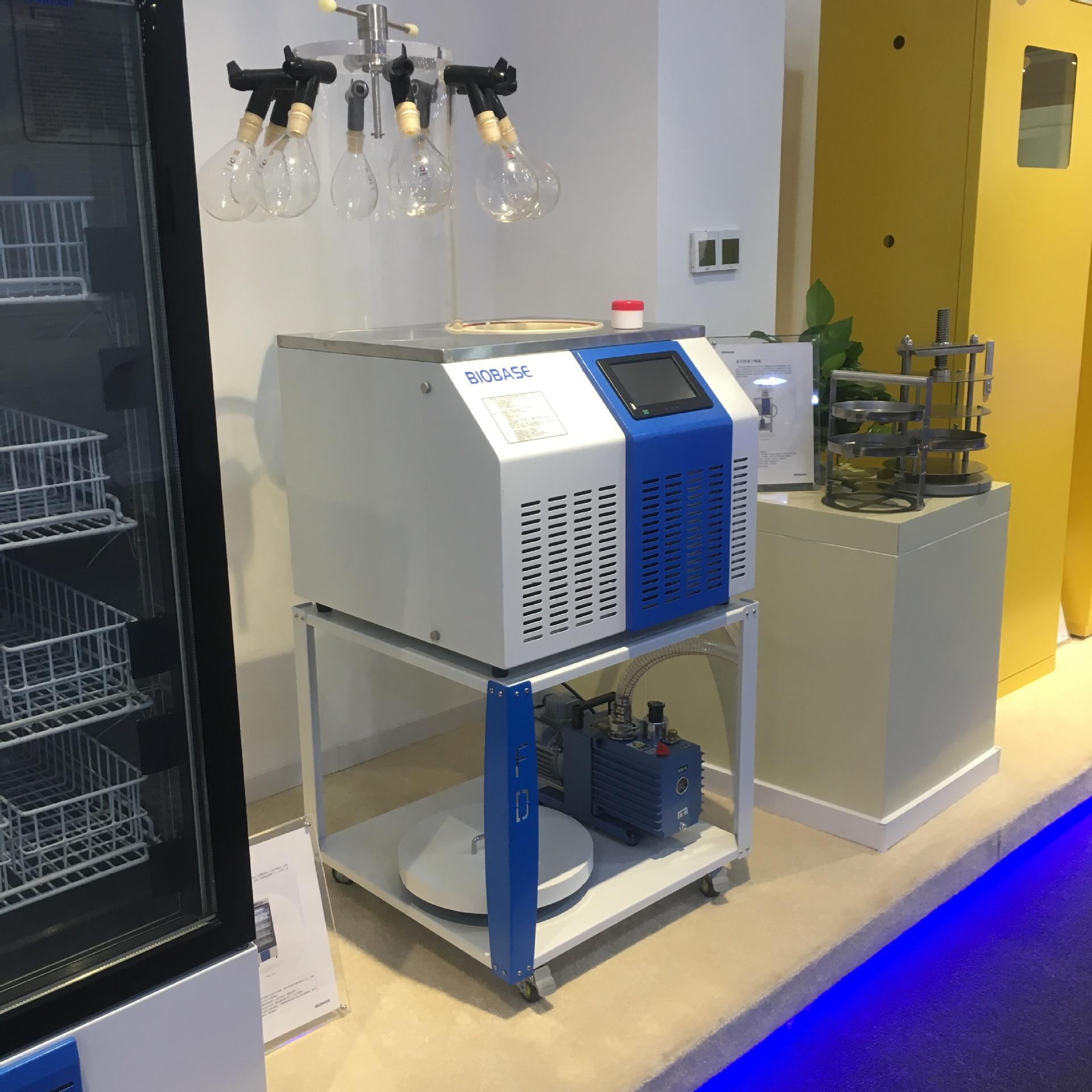 低价促销冻干机博科BK-FD10PT压盖多歧管型台式真空冷冻干燥机