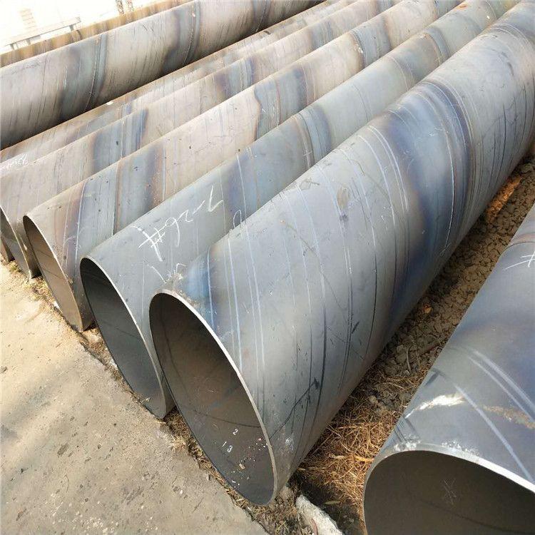 螺旋钢管厂家 螺旋管防腐加工 涂塑螺旋给水管 q235双面螺旋管