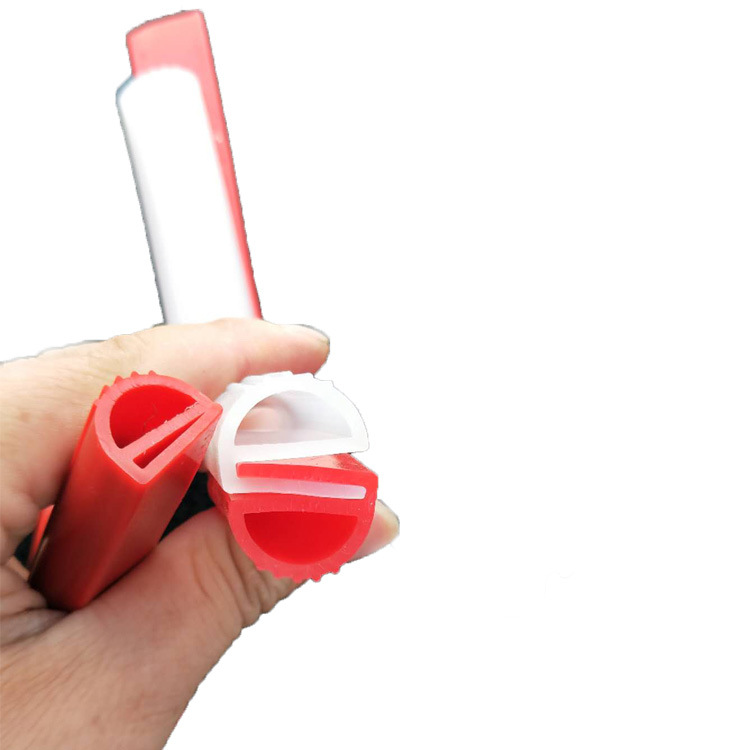 耐高温硅胶密封件 U型玻璃门包边硅胶密封条 e型蒸箱硅胶密封条