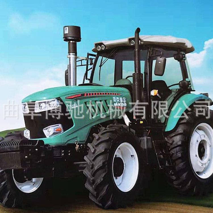 四轮拖拉机90马力四驱拖拉机现货出售大型农用四轮拖拉机的厂家