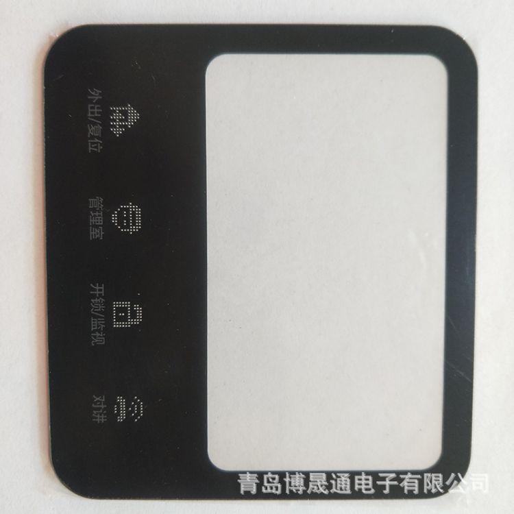 厂家定做印刷亚克力触摸面板压克力 可视门铃视窗镜片亚克力制作
