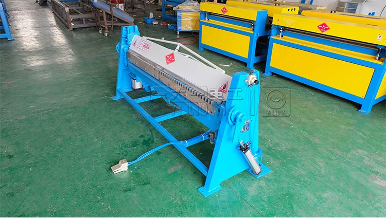 气动共板折边机 TDF共板法兰风管折弯机 方管折方机 气缸加强型