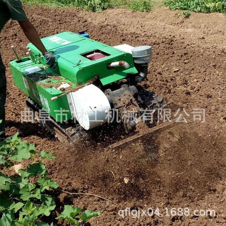 电启动深耕除草开沟机 农用犁地开沟机 柴油动力耕地机