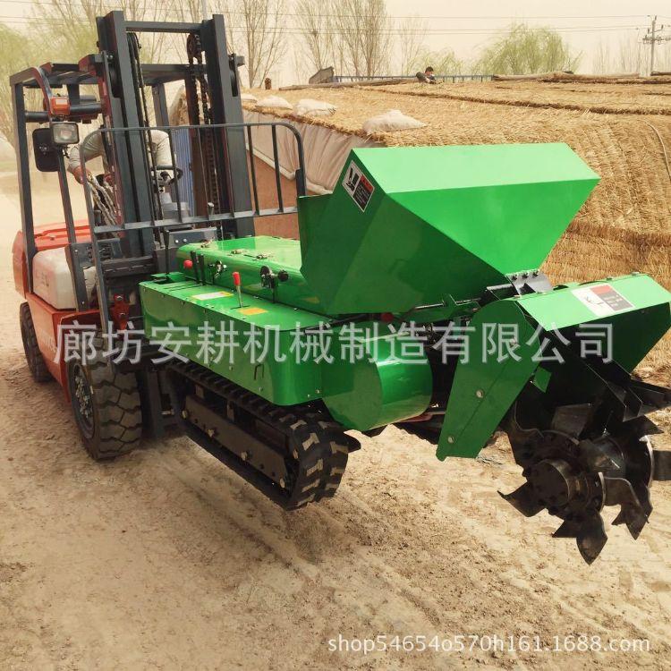 果园开沟施肥一体机 多功能微耕机 自走式旋耕机 厂家直销开沟机