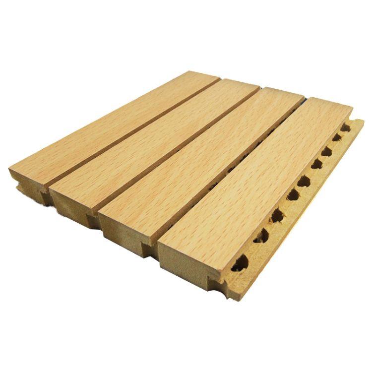佛山尚南音   木质环保吸音板厂家   琴房墙面吸音板生产厂家