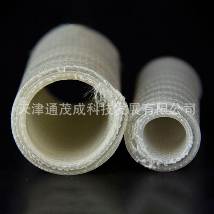 耐油高温硅胶防静电透明软管 钢丝增强管 钢丝硅胶管
