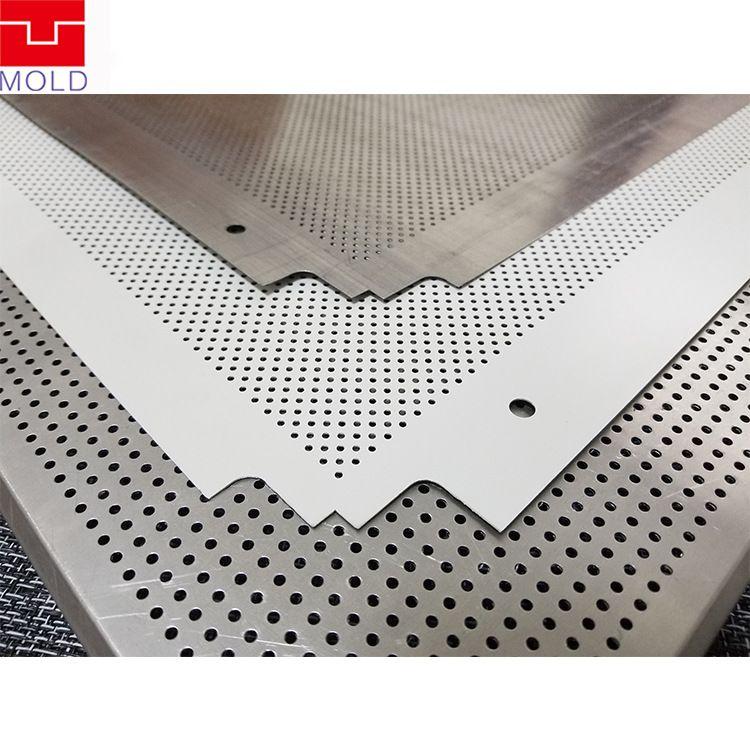 专业制造天花板冲孔切角成型模具 铝扣板冲压模具冲孔成型模具