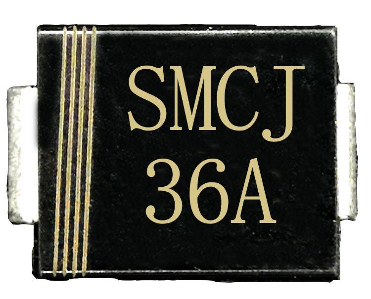 SMCJ36A瞬态抑制二极管*TVS二极管*1500W