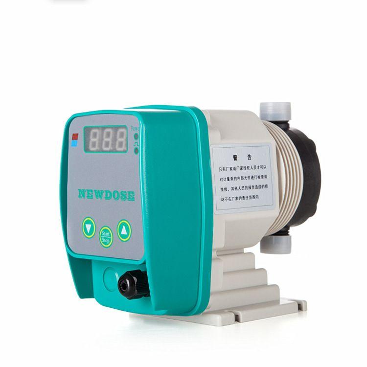 新道茨计量泵DFD-M系列手动调节1-9Lh定量加液加药泵 隔膜计量泵