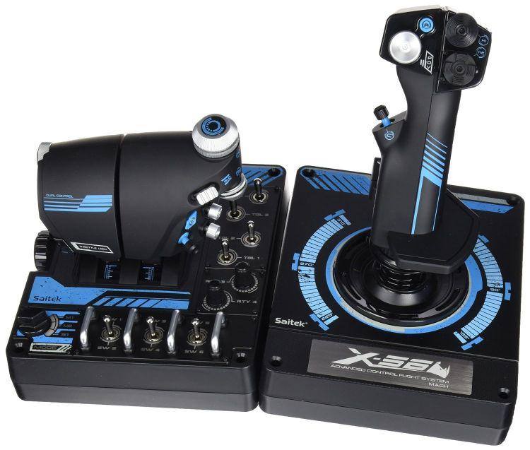 Saitek赛钛客 X56飞行摇杆 模拟飞行摇杆 X55升级力回馈