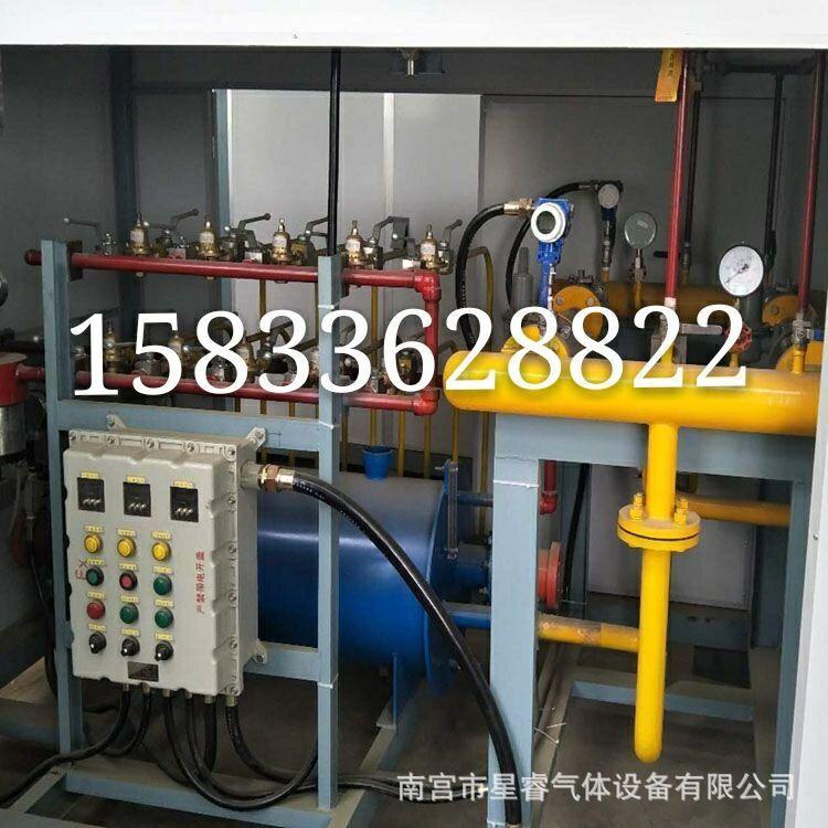 LNG气化调压撬 天然气气化撬 官网供气气化撬 LNG撬装设备