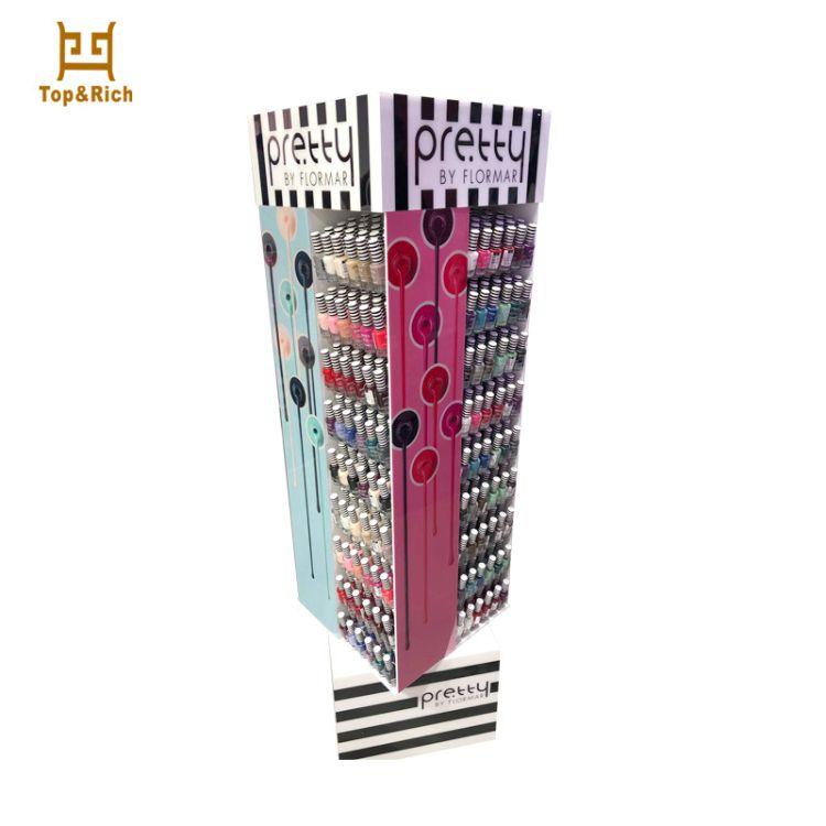 厂家定制 亚克力收纳盒 旋转口红唇膏展示架 亚克力化妆饰品架