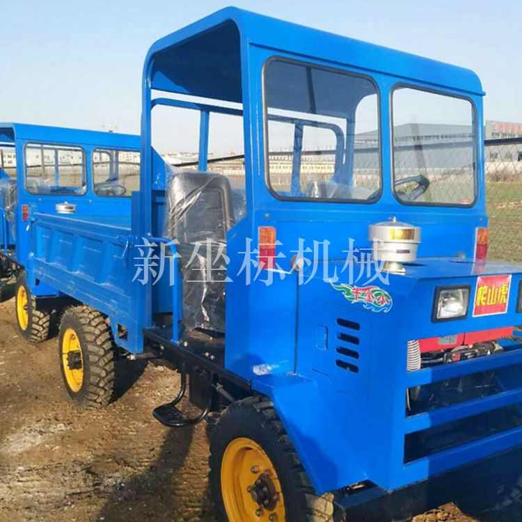 热销农用四不像小型工程拉货车大马力可定制四轮车大型拖拉机生产