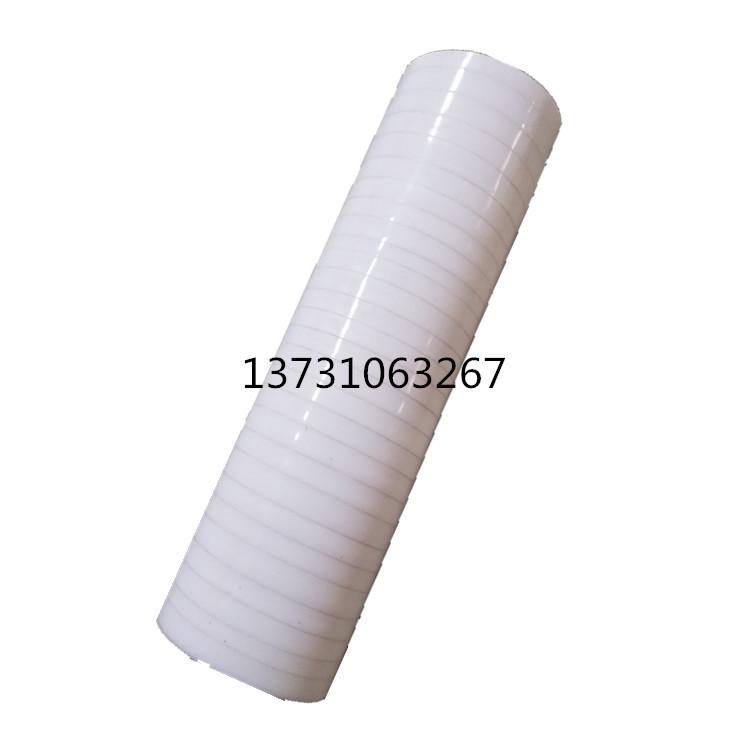 厂家批发大口径白色透明硅胶管 硅胶软连接 耐高温特大口径可定做