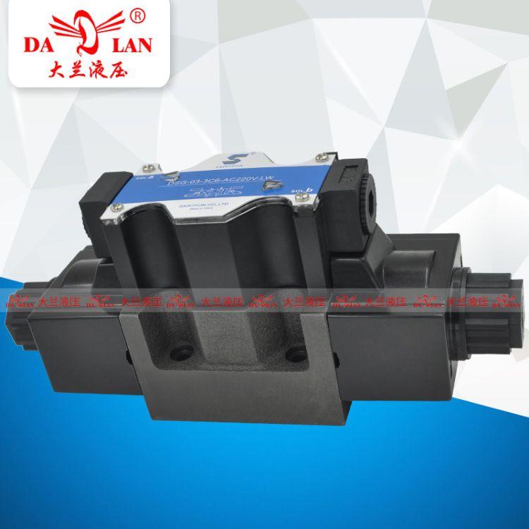 SAINTFON圣枫接线盒双头换向电磁阀DSG-03-3C63C12-22024V-LW