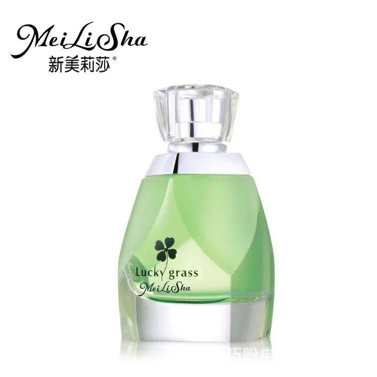新美莉莎香水批发四叶草香水青草的味道气质女士淡香水一件代发