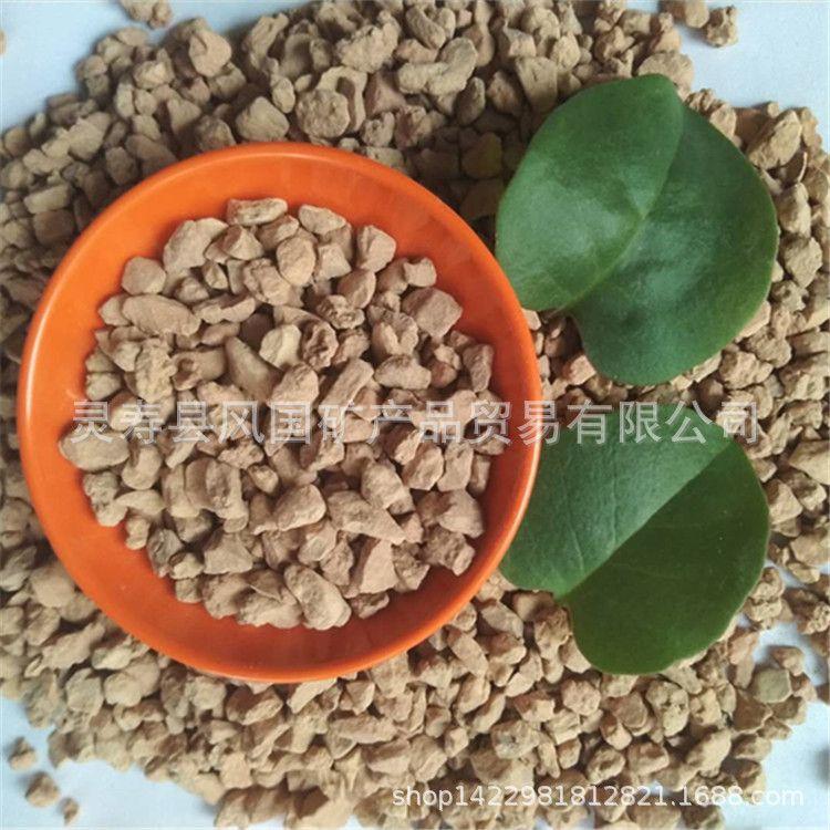 厂家直销硅藻土颗粒 园艺铺面用硅藻土颗粒 多肉养殖硅藻土颗粒