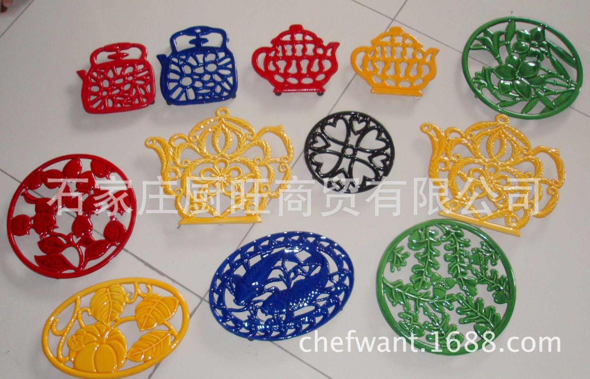 铸铁珐琅锅隔热锅垫厨房用品装饰
