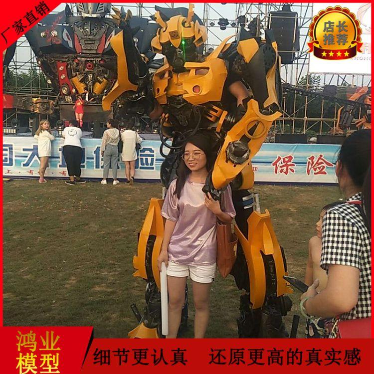 厂家直销人穿机器人模型 人穿汽车人模型加工定制 济南鸿业科技科仿真摸