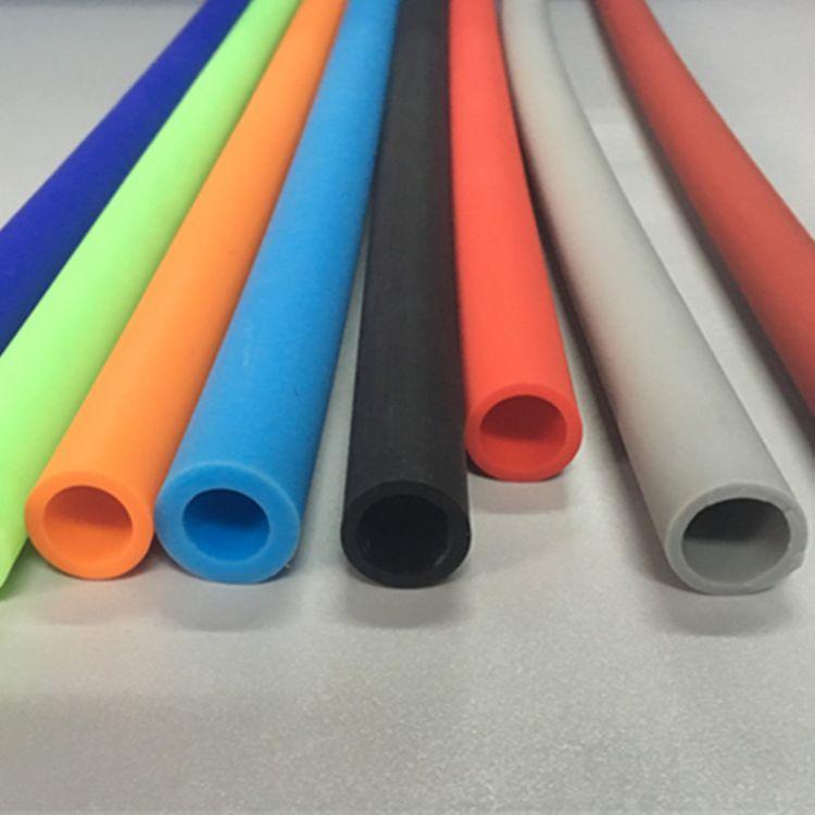 供应硅胶套管硅胶软管 可定制各种彩色耐高温大口径硅胶管