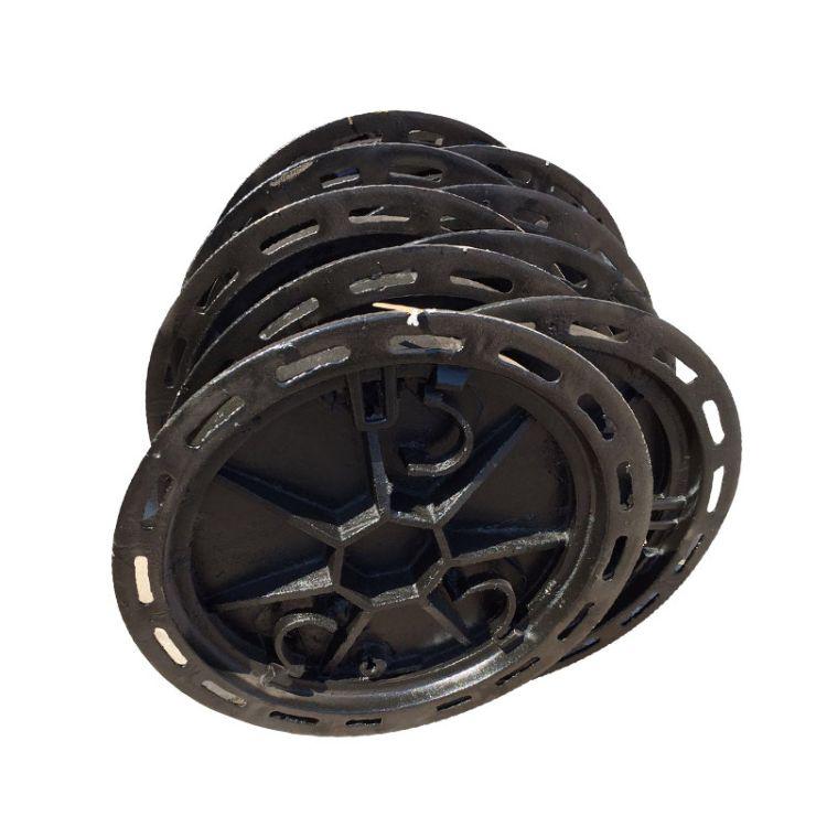 批发雨水球磨井盖 污水电力井盖球磨铸铁圆形井盖 重型下水道井盖