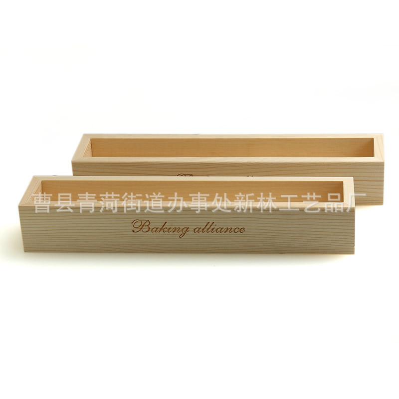 专业供应小吉模长方形木质饼干模具 烘焙木质饼干模具 可印logo