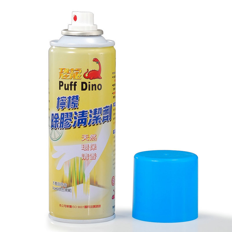 恐龙柠檬除胶清洁剂 进口柠檬除胶清洁剂 粘胶清除剂 220ml