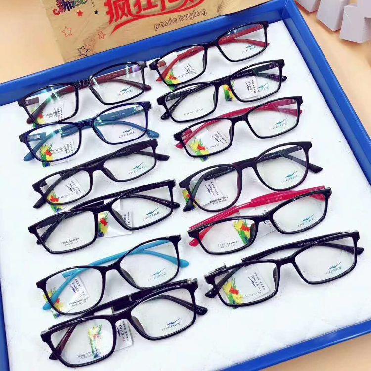 混牌 TR90眼鏡框 學生光學架 近視鏡 韌性強 價格實惠 多款多色