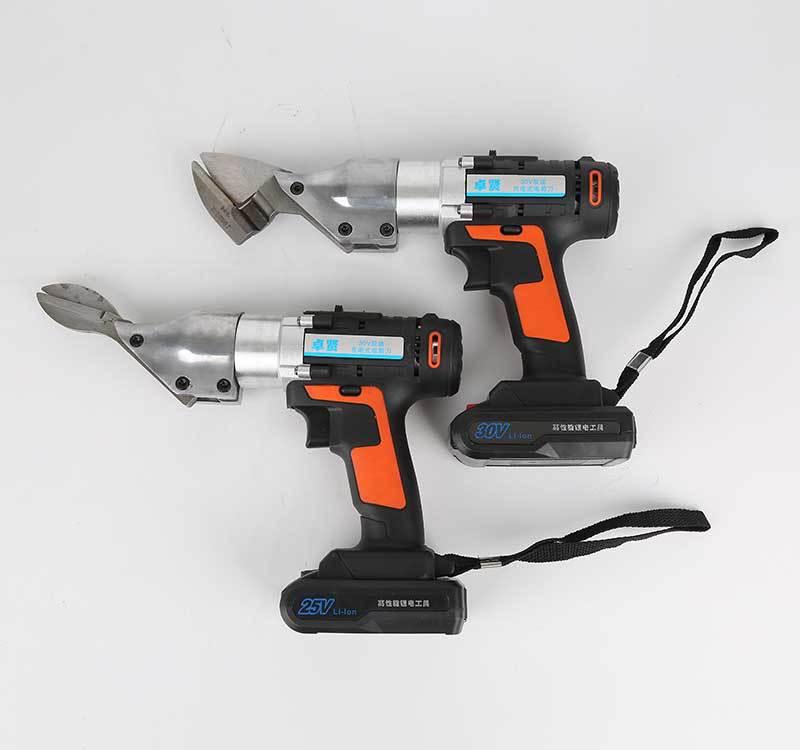 30v锂电式电剪刀 电动剪刀 铁皮剪 充电式钢丝剪刀皮革剪厂家直销