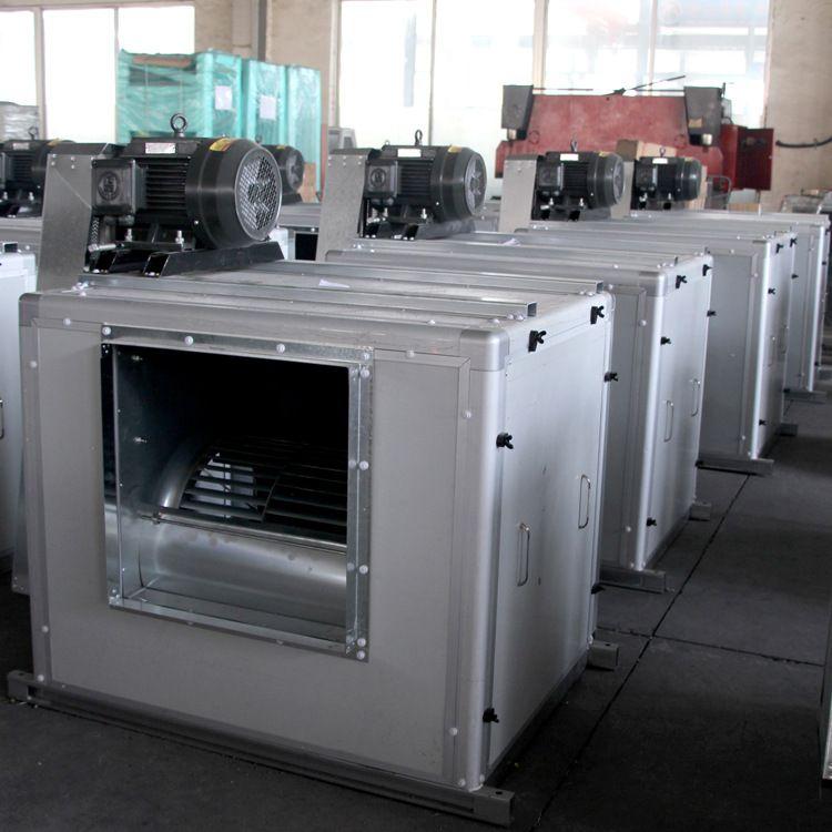柜式离心风机箱HTFC-I-18 低噪声消防排烟风机箱 批量生产