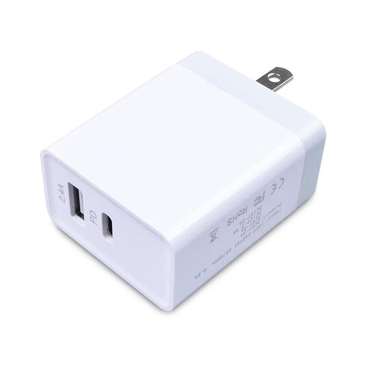 爆款推荐PD充电器  PD协议USB适配器   29W快速  适用于苹果手机