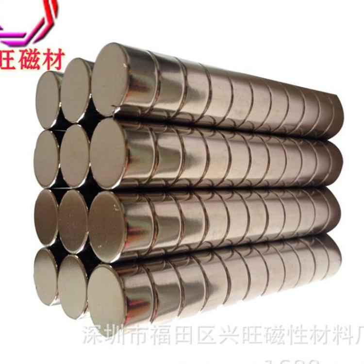 磁铁 圆形 强磁 圆形铁片永磁铁 圆形强力磁铁 N35圆片磁铁定做