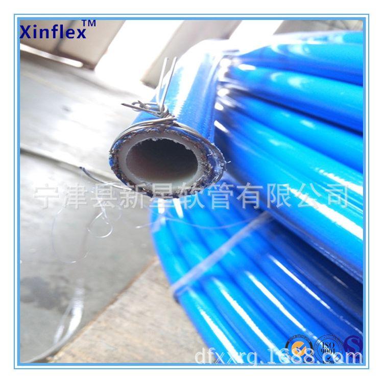 厂家直销 钢丝增强尼龙树脂管 钢丝增强树脂管 PA12尼龙树脂管