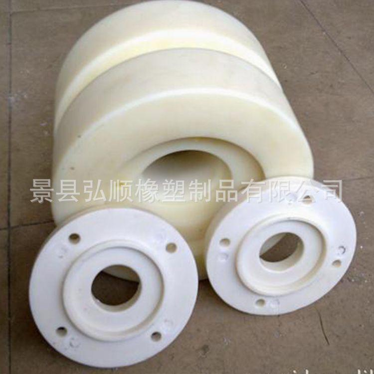 厂家直销健身器材滑轮尼龙滑轮u型槽轮健身器材配件 耐磨尼龙轮