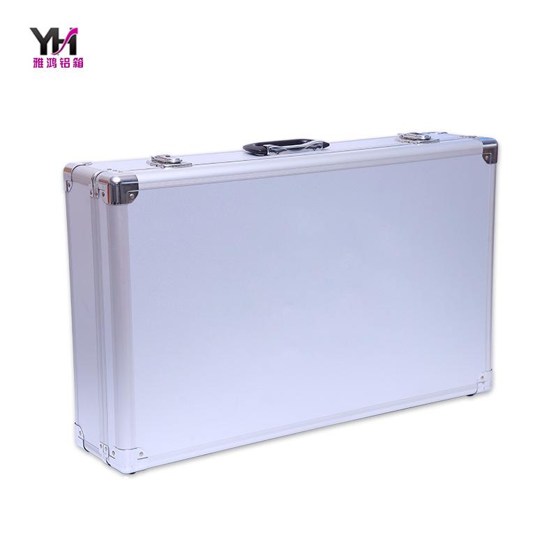 热销铝合金仪器箱 手提防震铝合金箱 金属锁扣工具箱 五金工具包